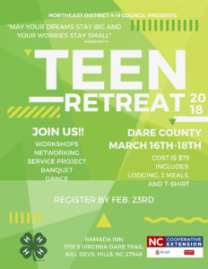 Cover photo for NED Teen Retreat 2018