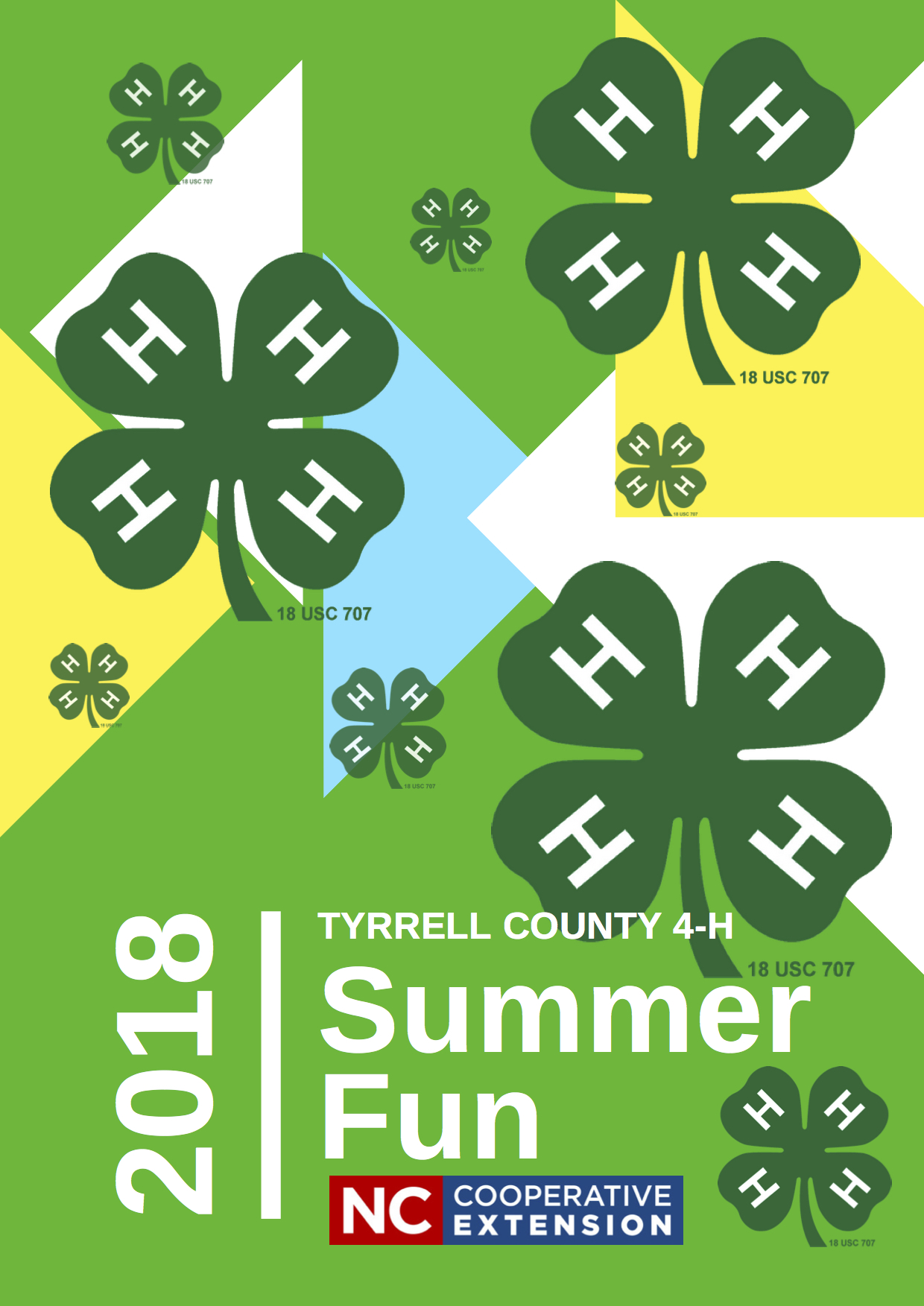 4-H Summer Fun flyer