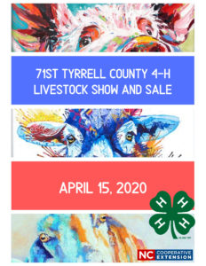 Cover photo for 71st Tyrrell County 4-H Livestock Show