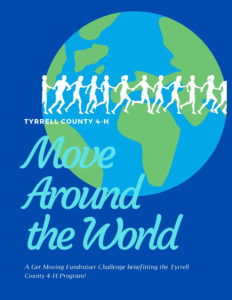 Cover photo for Move Around the World Challenge