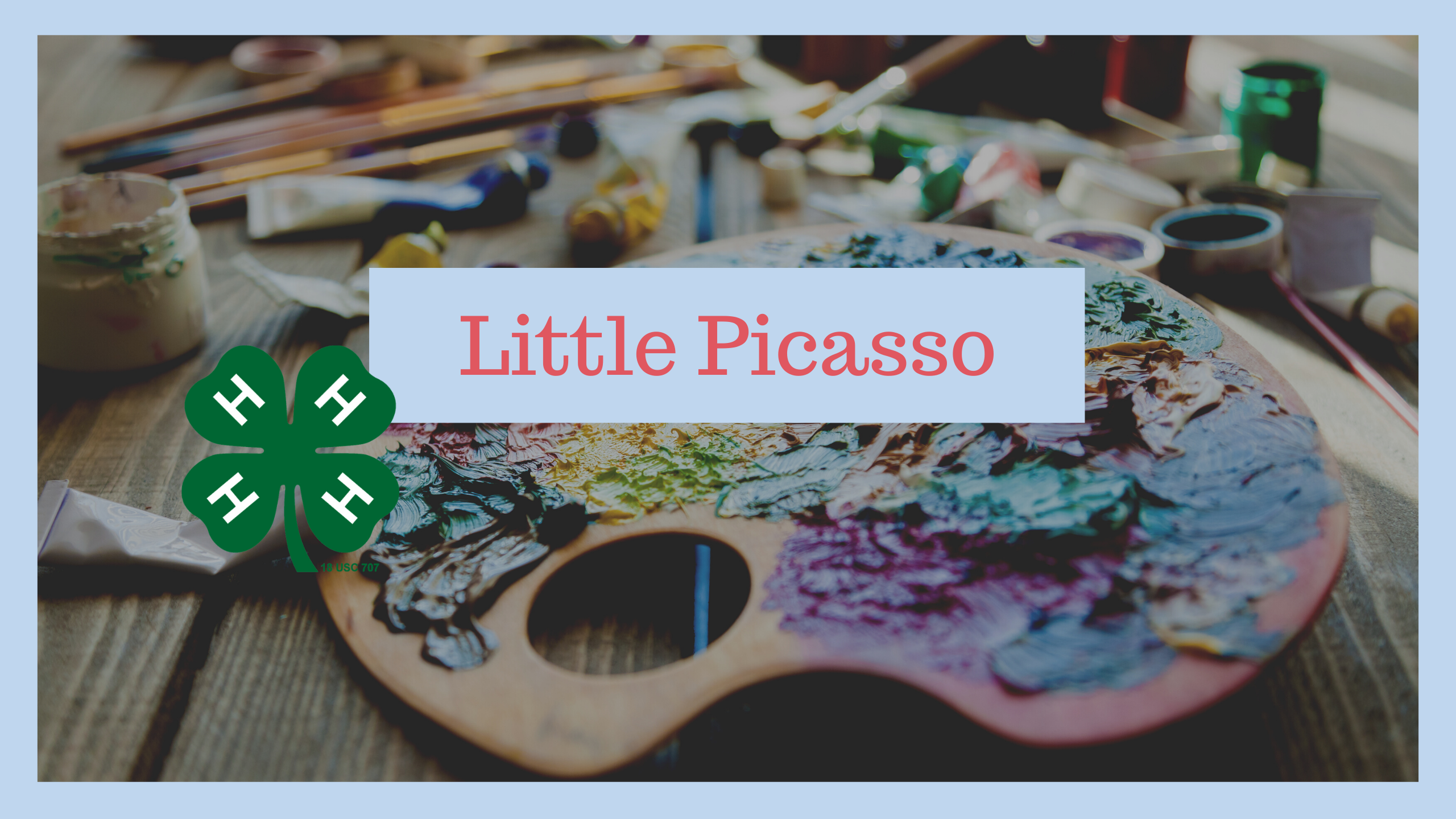 Little Picasso flyer image