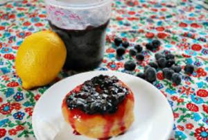 Cover photo for Lemony Blueberry Nectarine Freezer Jam